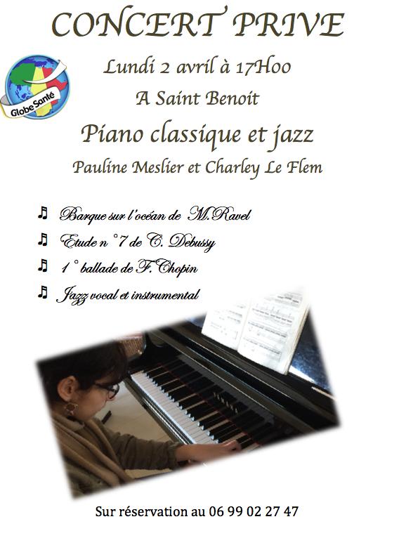 Concert au chapeau:  Piano Classique et Jazz