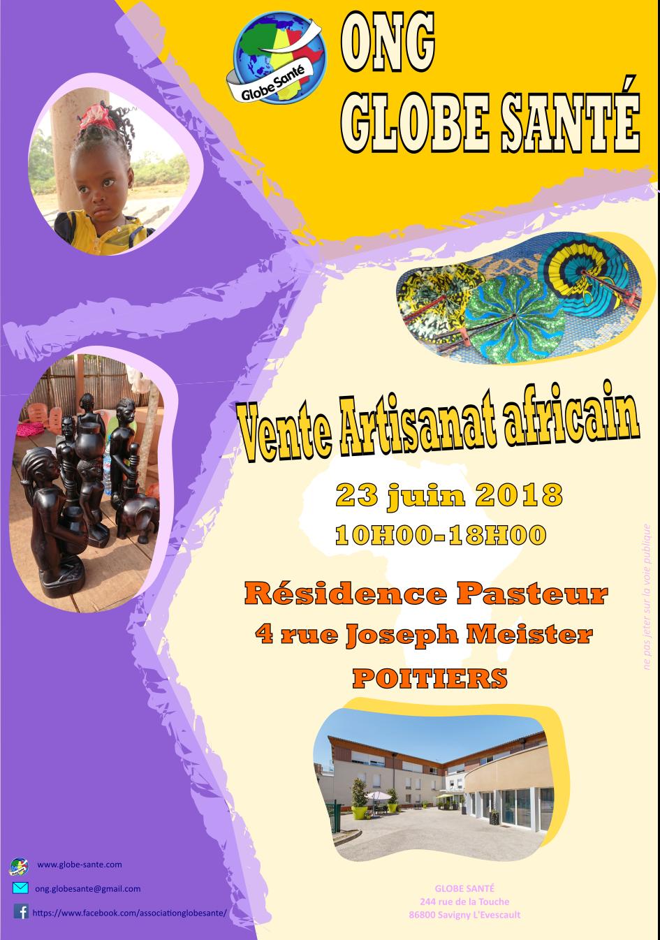 Vente Artisanat : Résidence Pasteur